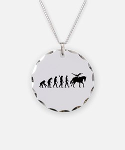 Evolution Horse Vaulting Necklace