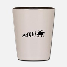 Evolution Horse Vaulting Shot Glass