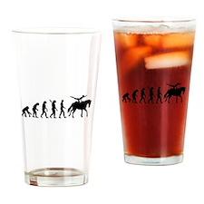 Evolution Horse Vaulting Drinking Glass