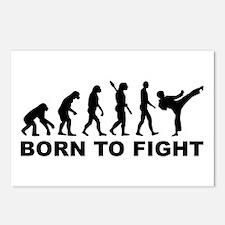 Evolution Karate fight Postcards (Package of 8)