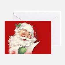 Vintage Santa Reworked! Greeting Cards