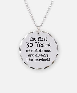 30 Years Childhood Necklace