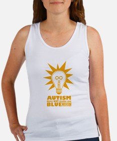 Autism Does NOT Make Me Blue Tank Top