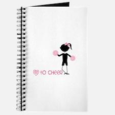 Love To Cheer Journal