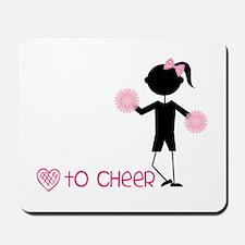 Love To Cheer Mousepad