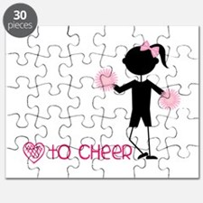 Love To Cheer Puzzle