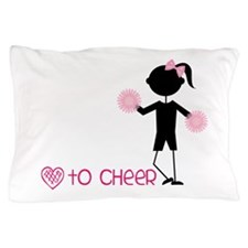 Love To Cheer Pillow Case