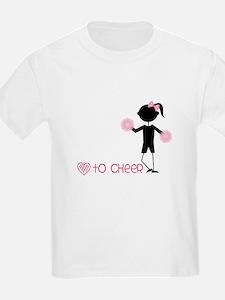 Love To Cheer T-Shirt