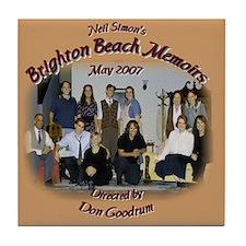 Brighton Beach Memoirs Tile Coaster