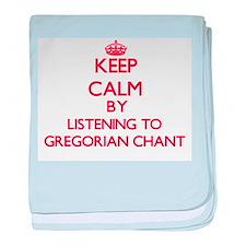 Cute Gregorian chant baby blanket