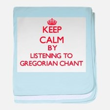 Cool Gregorian chant baby blanket