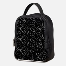 Unique Music notes Neoprene Lunch Bag