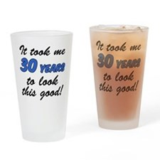 Took Me 30 Years Drinking Glass