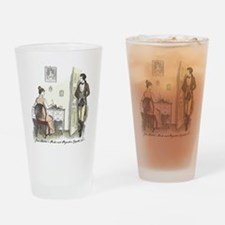Unique Austen Drinking Glass