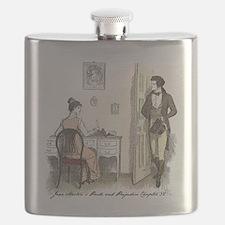 Funny Jane austen Flask