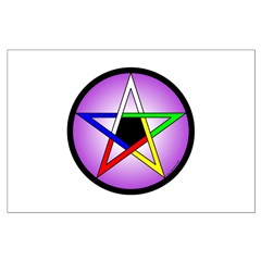 5 Elements Pentacle 23x35 Poster