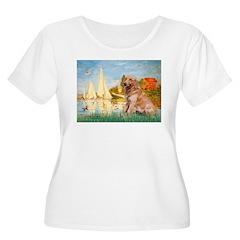 Sailboats (#2) & Golden T-Shirt