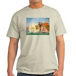 Sailboats (#2) & Golden Light T-Shirt