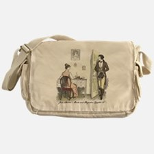Cute Mr. bennet Messenger Bag