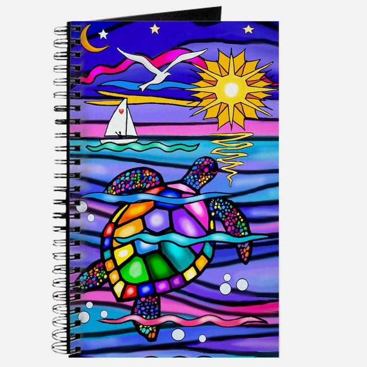 Cute Animals sea turtle Journal