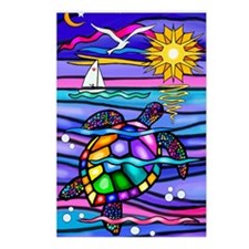 Unique Colorful Postcards (Package of 8)