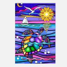 Cute Sea Postcards (Package of 8)