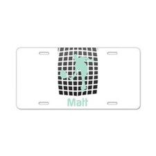 Personalized Sport Tag Aluminum License Plate