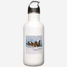 Cute Clydesdale Water Bottle