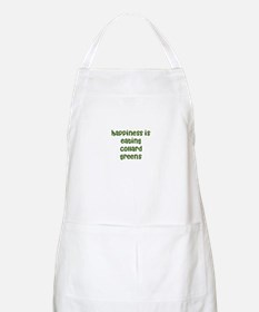 happiness is eating collard g BBQ Apron