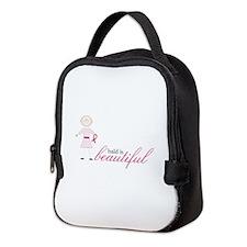 Bald Is Beautiful Neoprene Lunch Bag