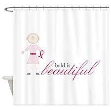Bald Is Beautiful Shower Curtain