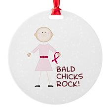 Bald Chicks Rock Ornament