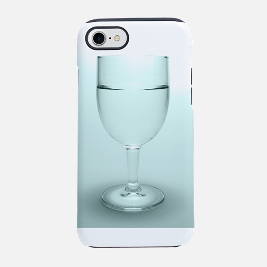 Glass of water iPhone 7 Tough Case