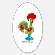 Traditional Portuguese Rooster Decal