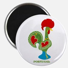 Traditional Portuguese Rooster Magnets