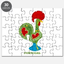 Traditional Portuguese Rooster Puzzle