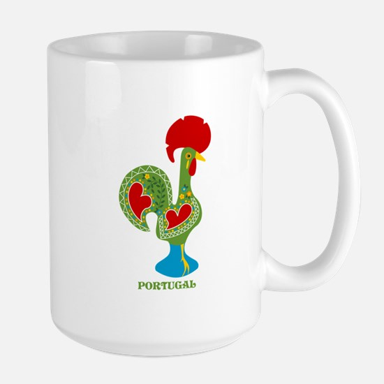 Traditional Portuguese Rooster Mugs