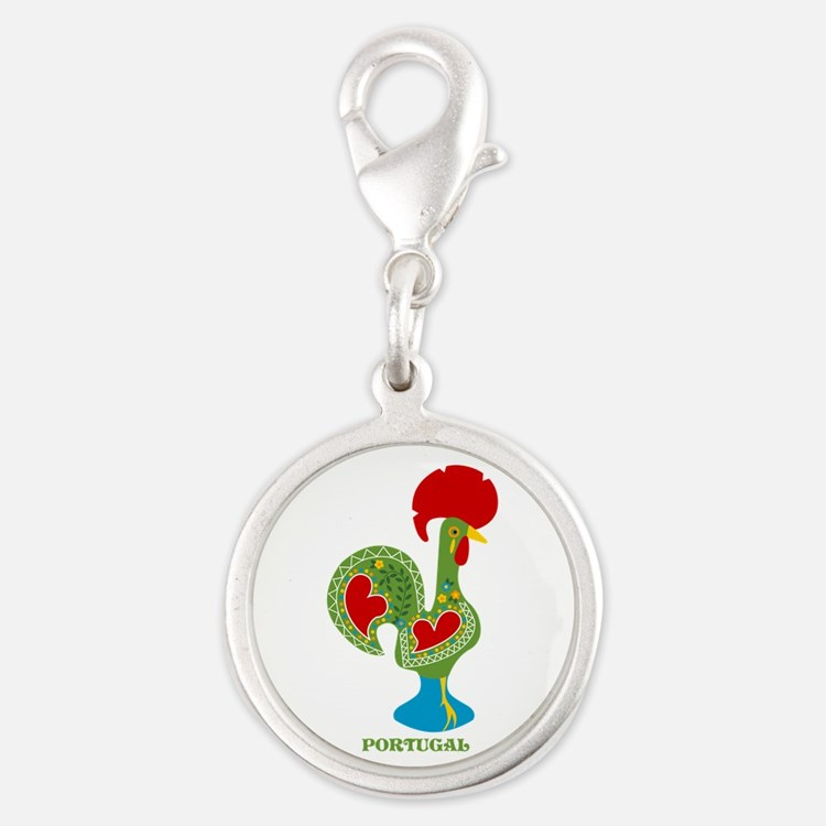 Traditional Portuguese Rooster Charms