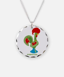 Traditional Portuguese Rooster Necklace