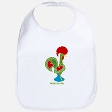 Traditional Portuguese Rooster Bib