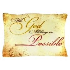 Cute Scripture Pillow Case