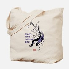 Hawkeye This Looks Bad Tote Bag