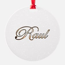 Gold Raul Ornament