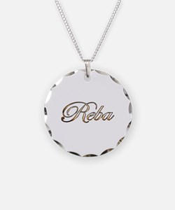 Gold Reba Necklace