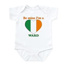 Ward, Valentine's Day Infant Bodysuit