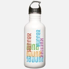 Run Off Colorful Water Bottle