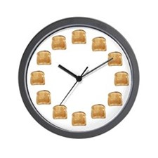 Toasty Wall Clock