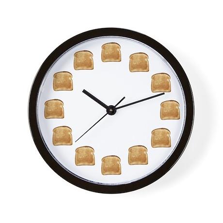 Toasty Wall Clock