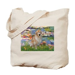 Lilies & Golden Tote Bag