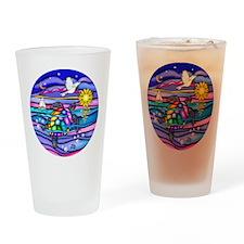 Sea Turtle #4 Drinking Glass
